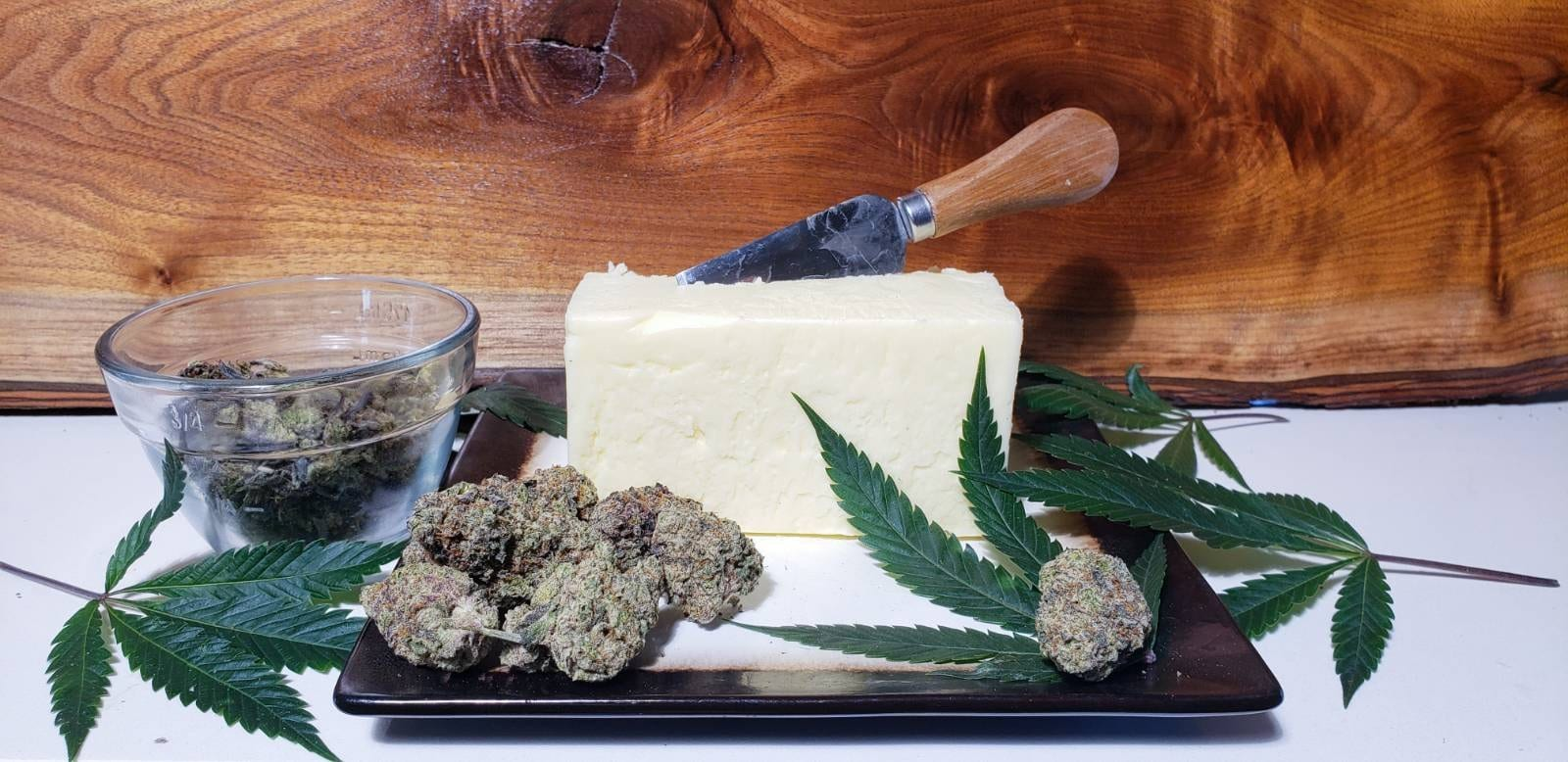 Sticky's world famous ( can be vegan) cannabutter recipe